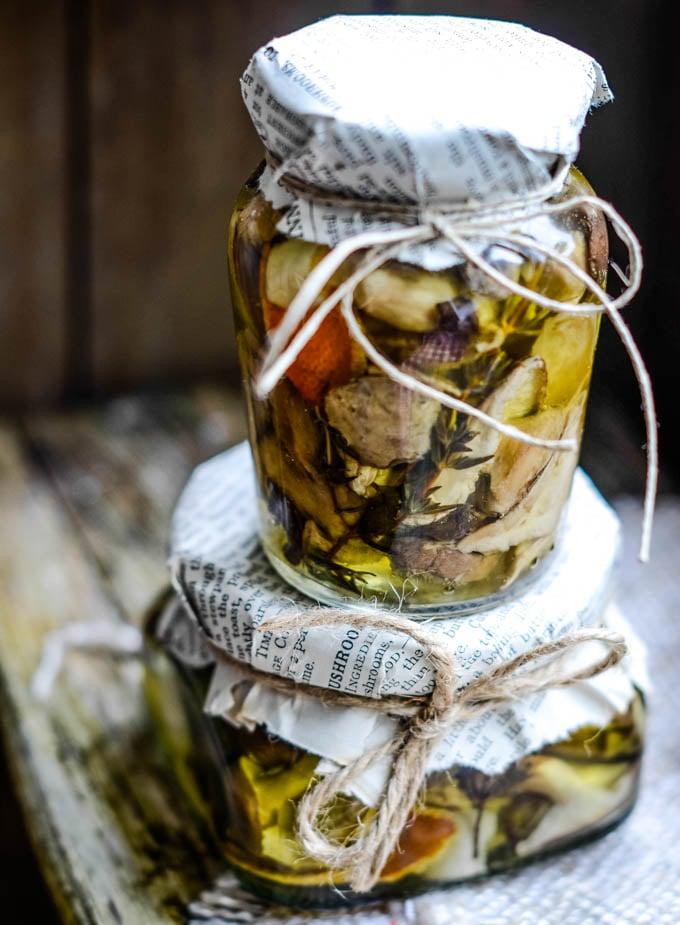 stack of jars