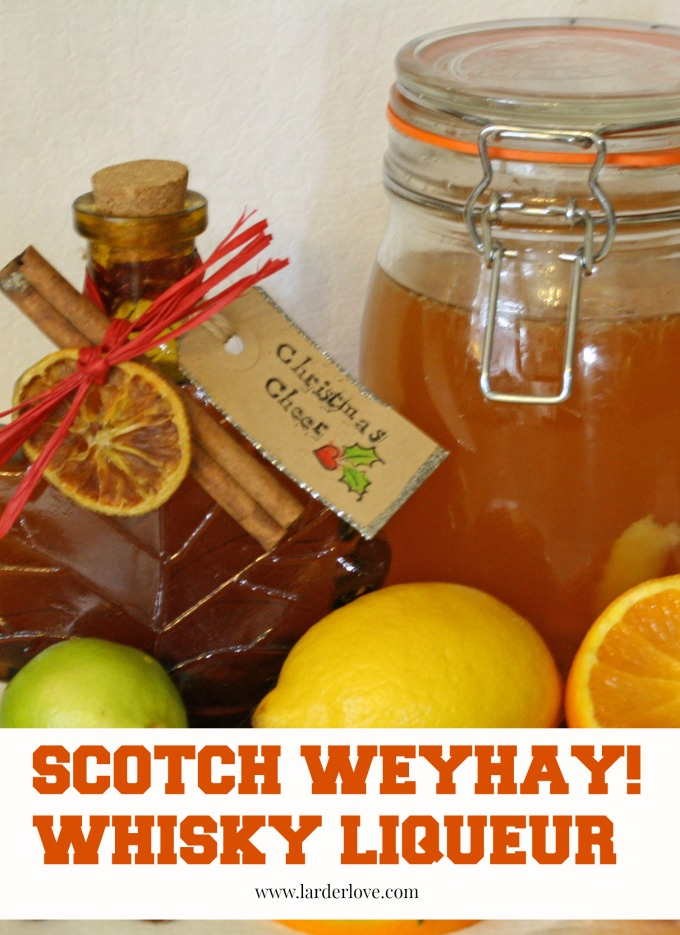 scotch weyhay whisky liqueur by larderlove
