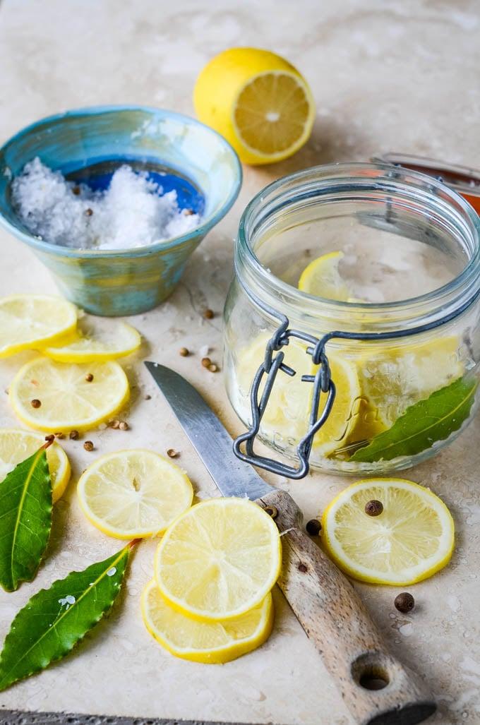 lemons and jars