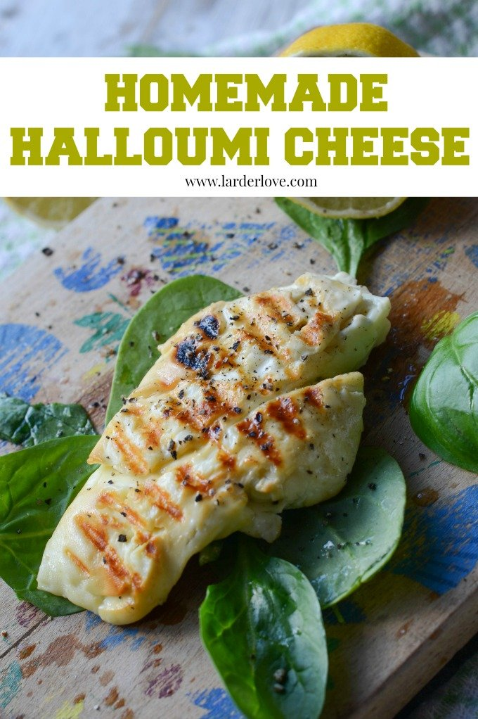 homemade halloumi by larderlove