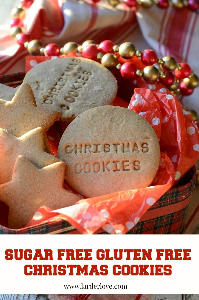 sugar free gluten free christmas cookies by larderlove