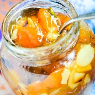 kumquat and almond conserve