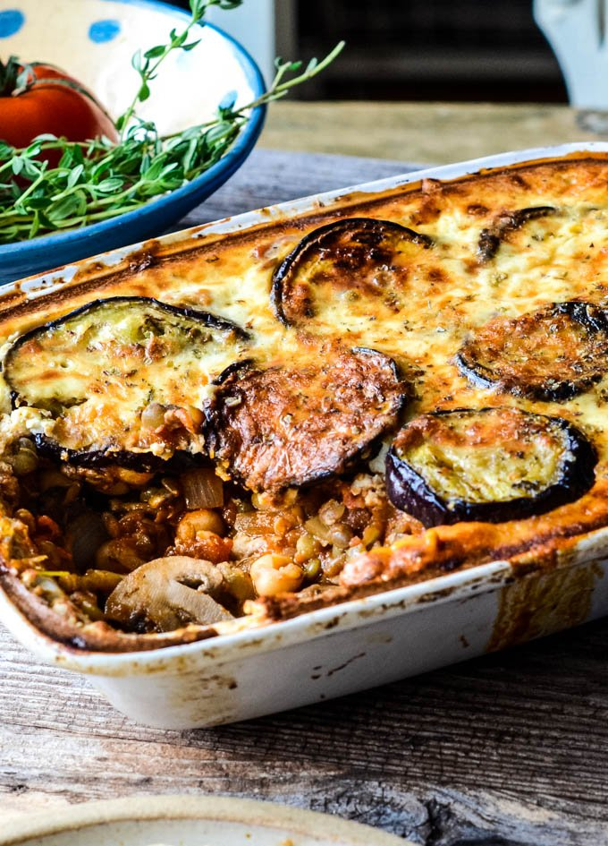 Easy Vegetarian Moussaka Recipe Larder Love