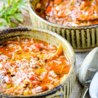 mushroom and tomato soup