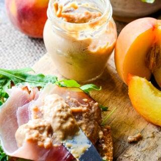 peach and tarragon mustard by larderlove.com
