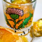 marmalade in thistle glass