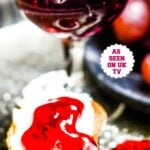 Bordeaux red wine jelly