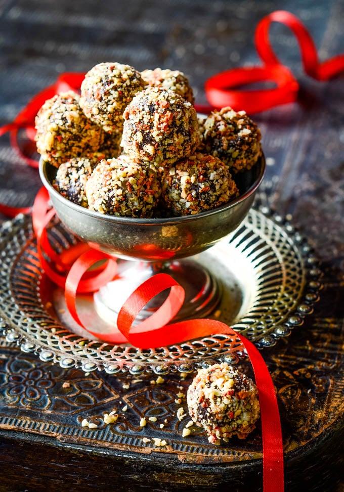 valentine truffles with aphrodisiac spices