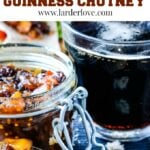 Guinness chutney pin image