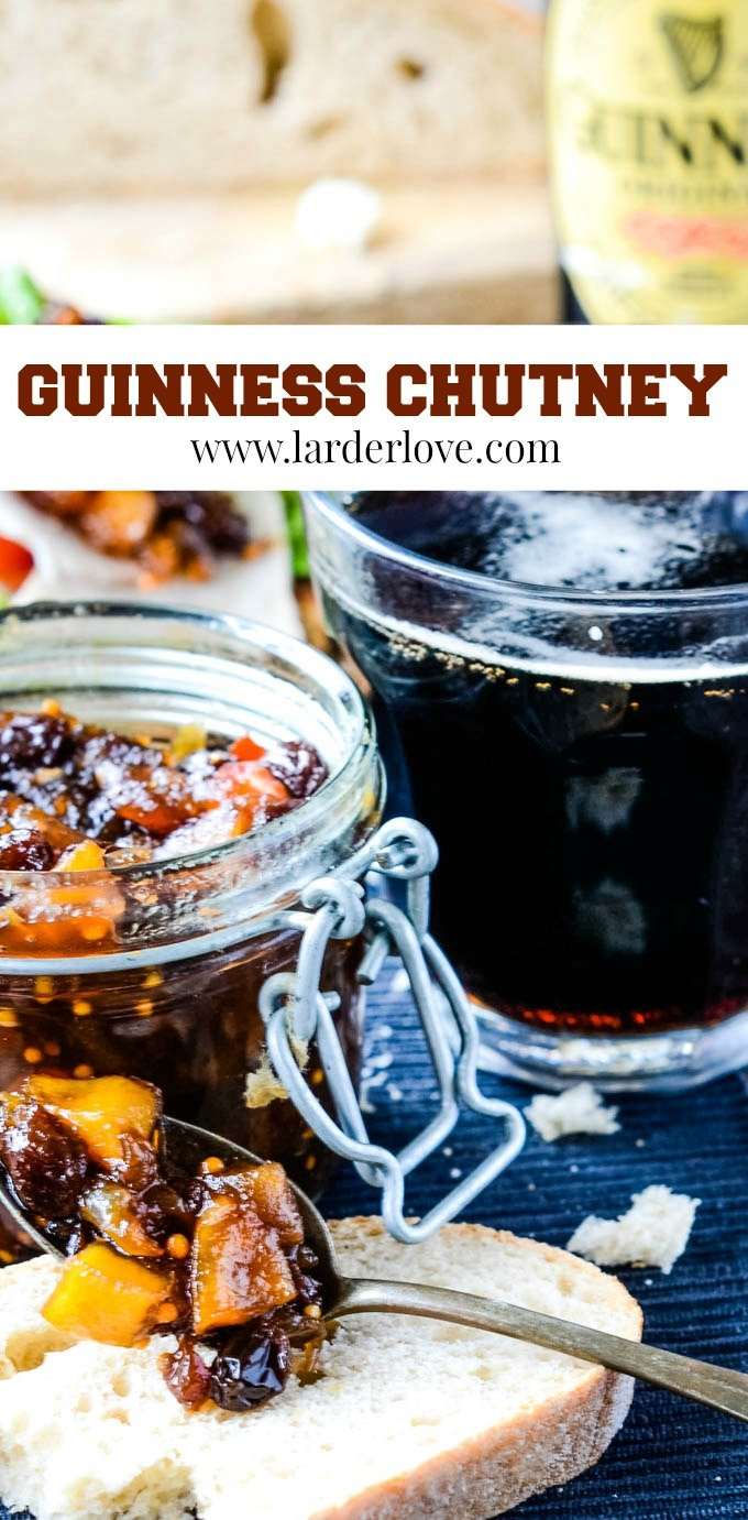 gorgeous Guinness chutney pin image