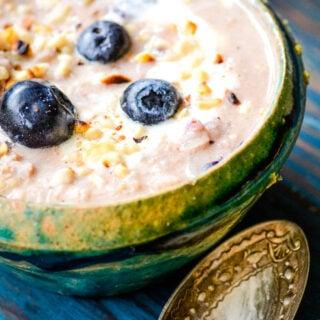 healthy rice porridge