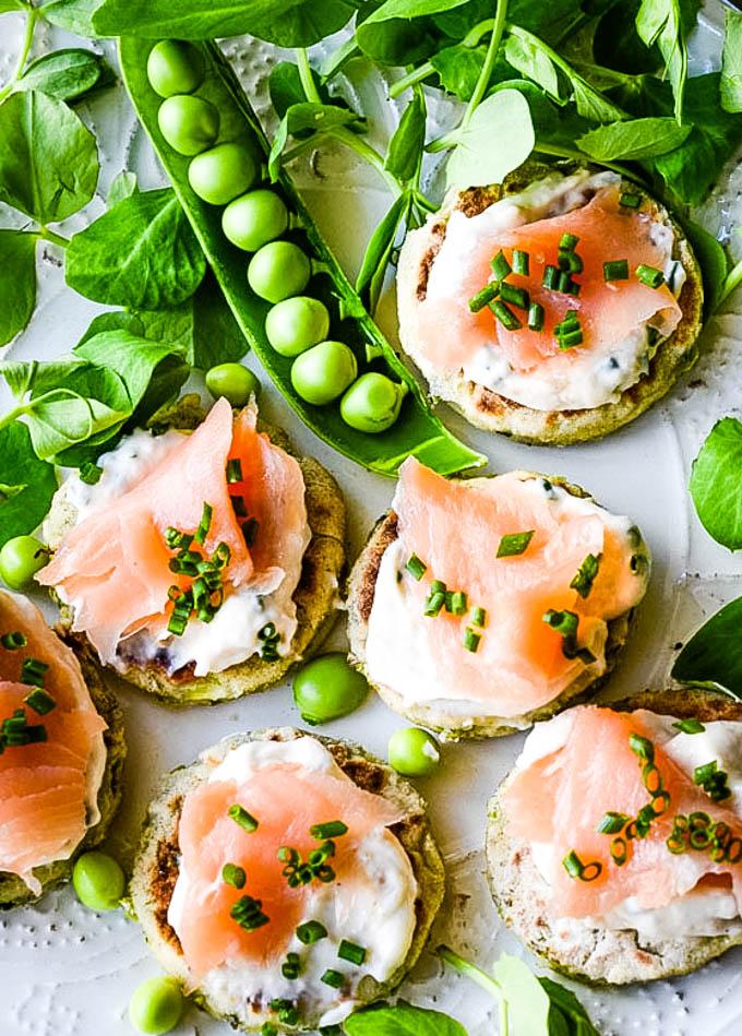 close up of potato scones