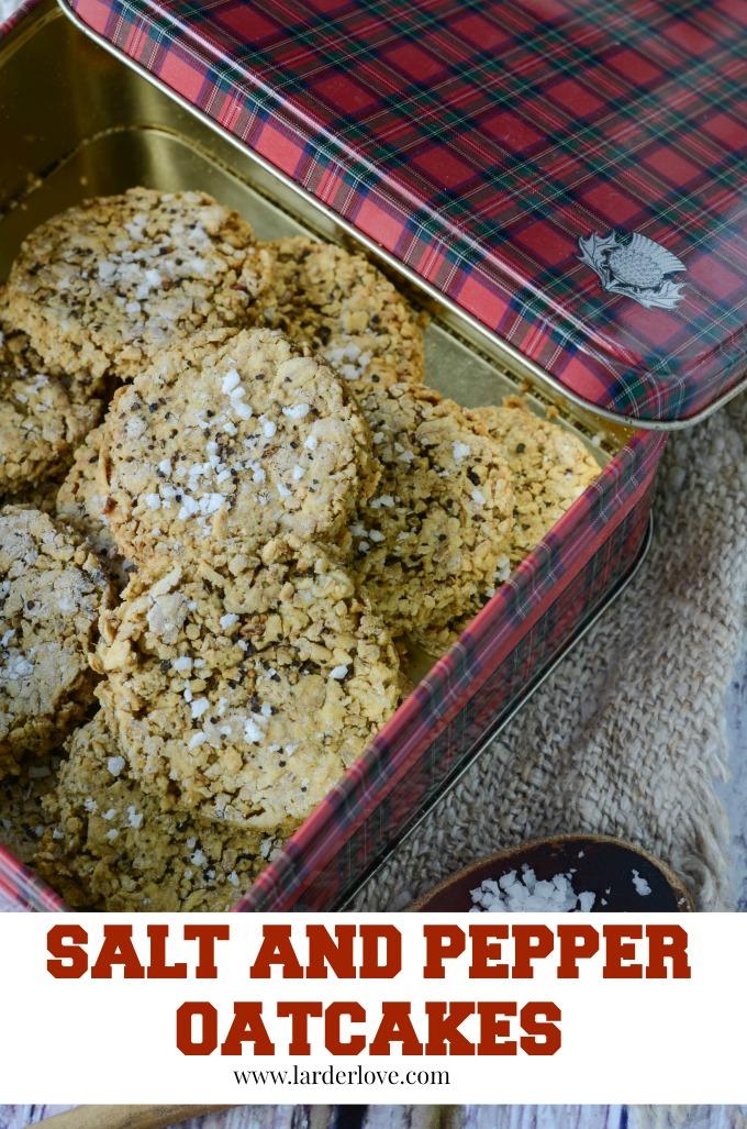 salt and pepper oatcakes by larderlove