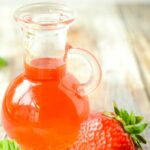 strawberry and basil vinegar