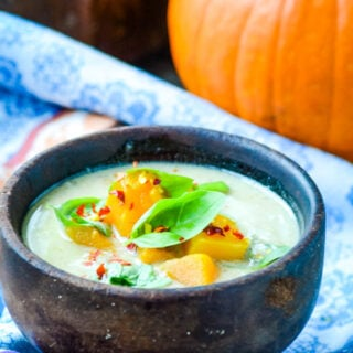 perfect pumpkin and coconut soup by larderlove.com
