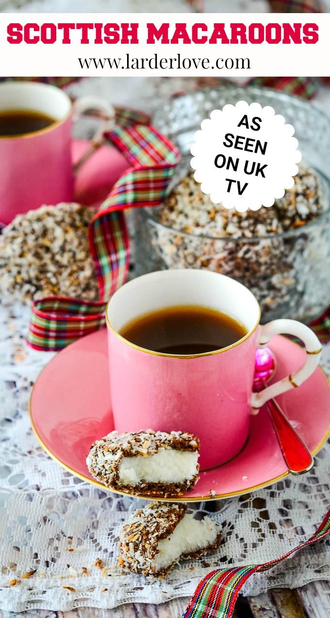 Scottish macaroons pin image