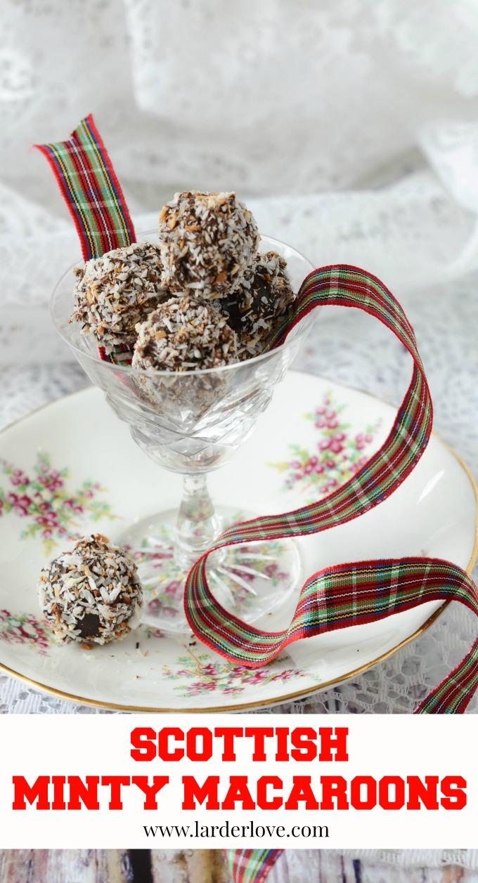 Scottiah minty macaroons by larderlove
