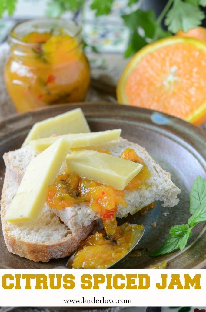 citrus spiced jam by larderlove