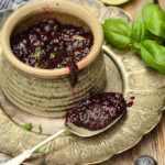 sugar free blueberry chia jam by larderlove