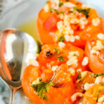 baked apricots pin image