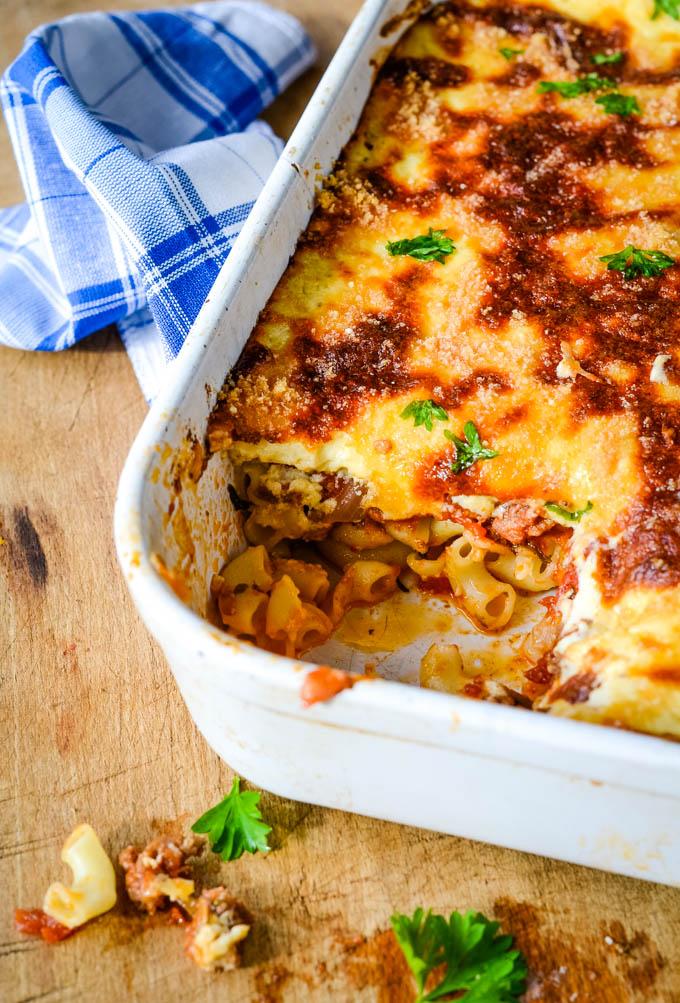 easy pastitsio recipe