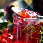 rowan jelly with rosemary