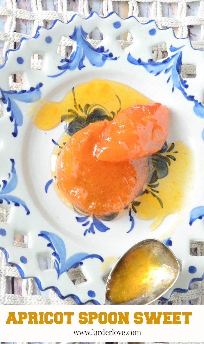 apricot spoon sweet by larderlove