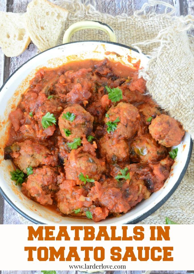 meatballs in tomato sauce by larderlove