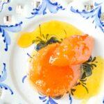 Greek spiced apricot spoon sweet