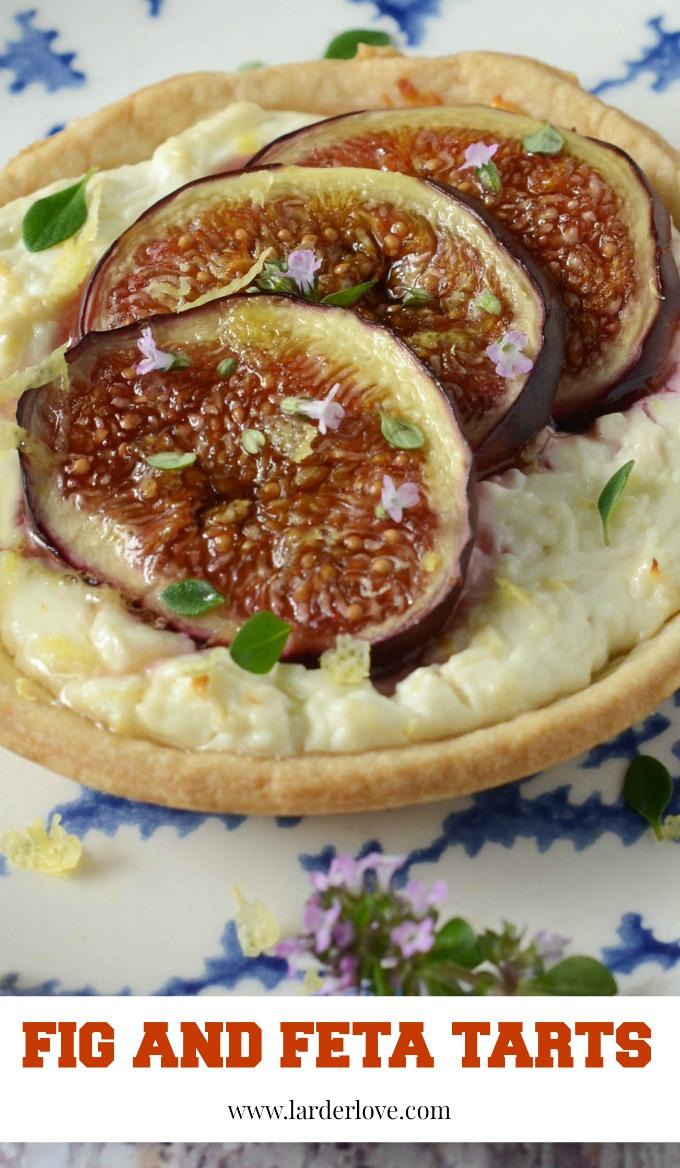 fig and feta tarts by larderlove