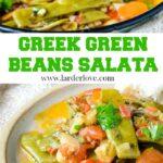 Greek Green Bean Salata