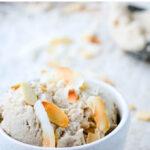 dairy free coconut icecream pin image