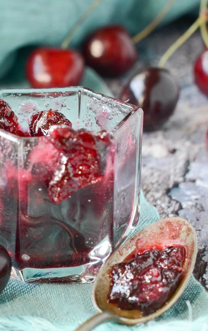 spiced cherry cheese