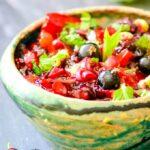 blackcurrant salsa