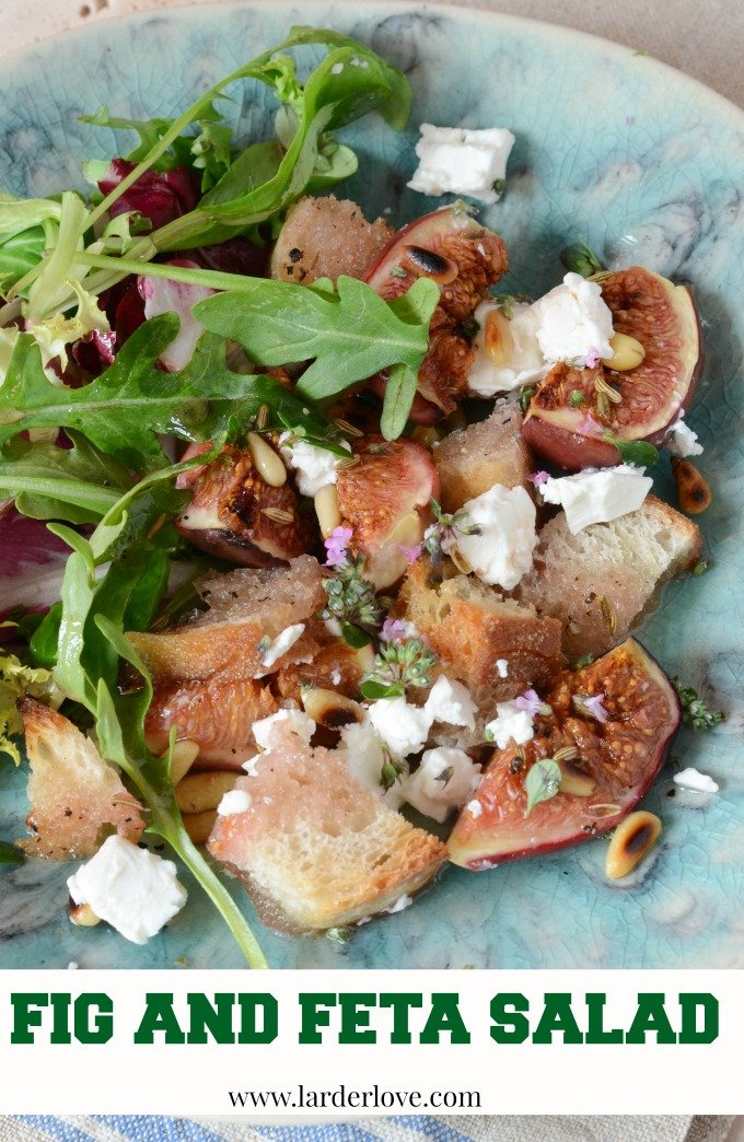 fig and feta salad by larderlove