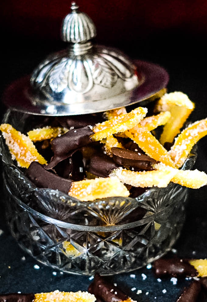 jar with candied peel