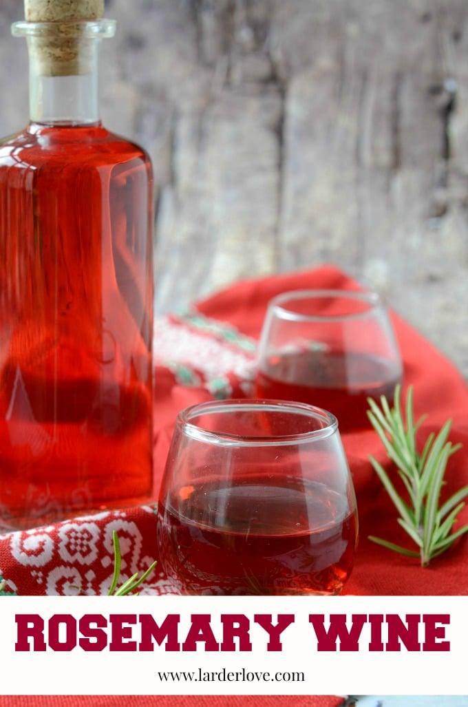 rosemary wine by larderlove