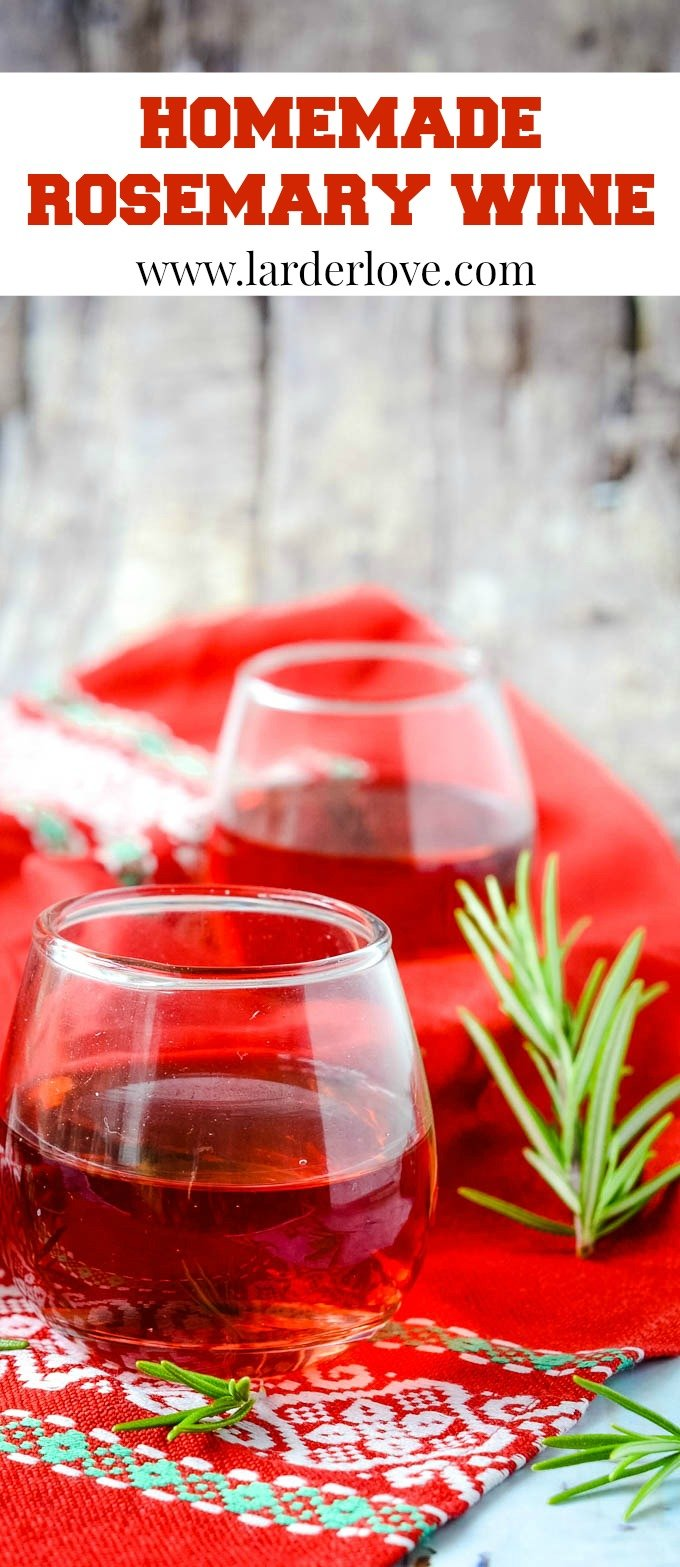 rosemary wine pin image