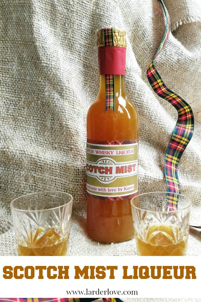 scotch mist liqueur by larderlove
