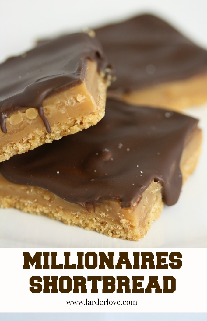 millionaires shortbread by larderlove