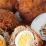 mini Scotch eggs by larderlove