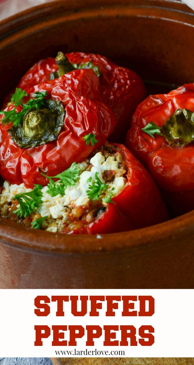 stuffed peppers by larderlove