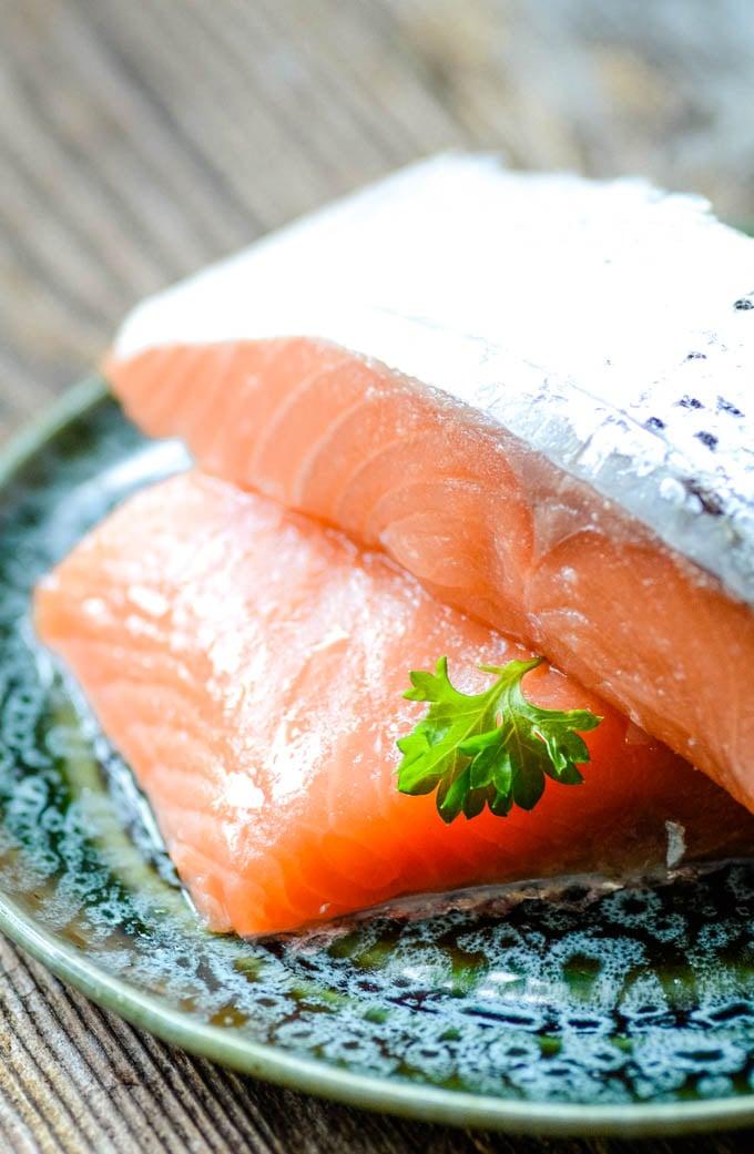 ingredients salmon fillets