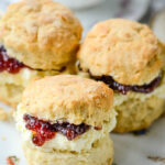 quick and easy simple scones recipe by larderlove