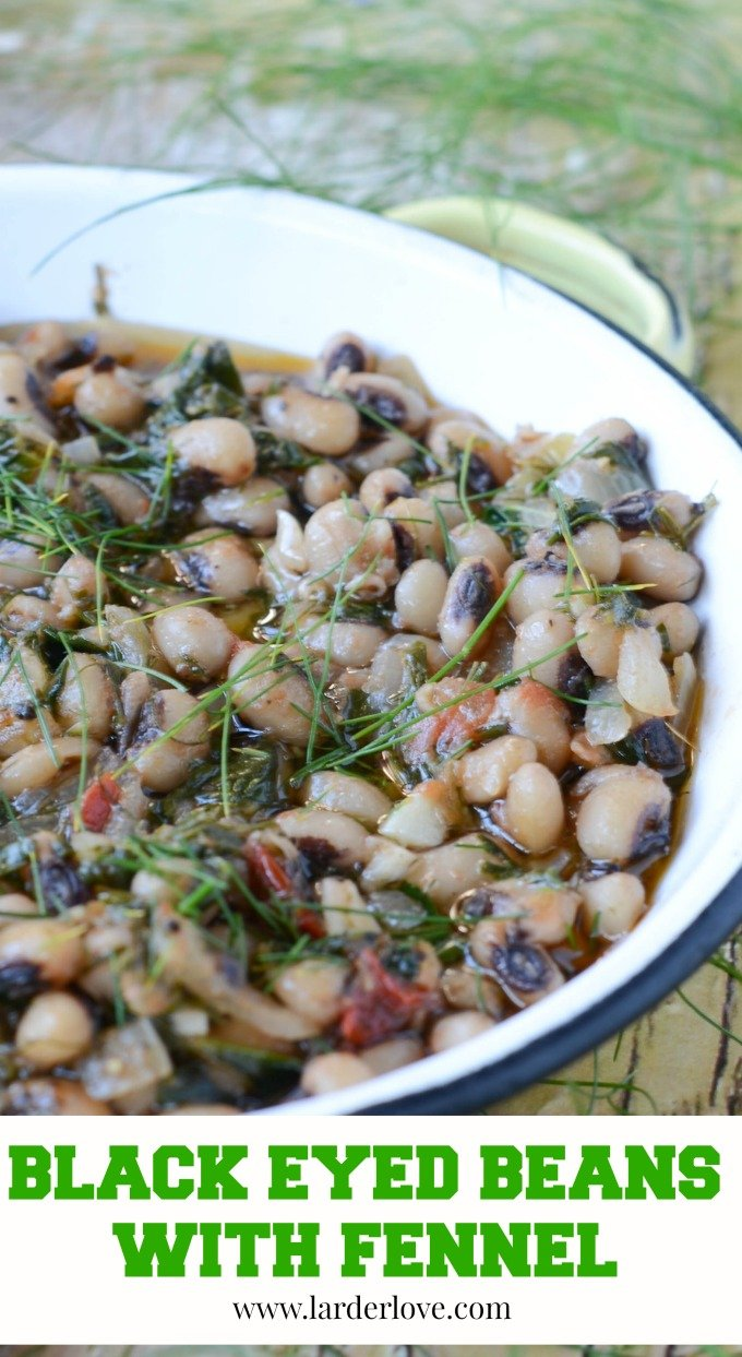 black eyed beans with fennel by larderlove