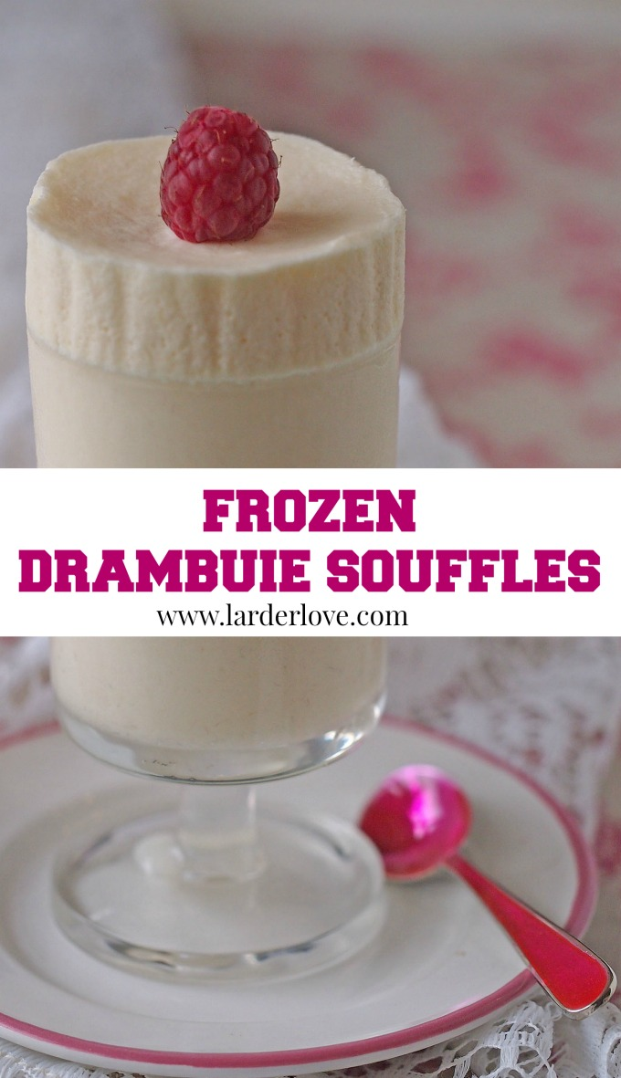 frozen drambuie souffles the perfect way to end a meal with a real touch of Scottish style by larderlove