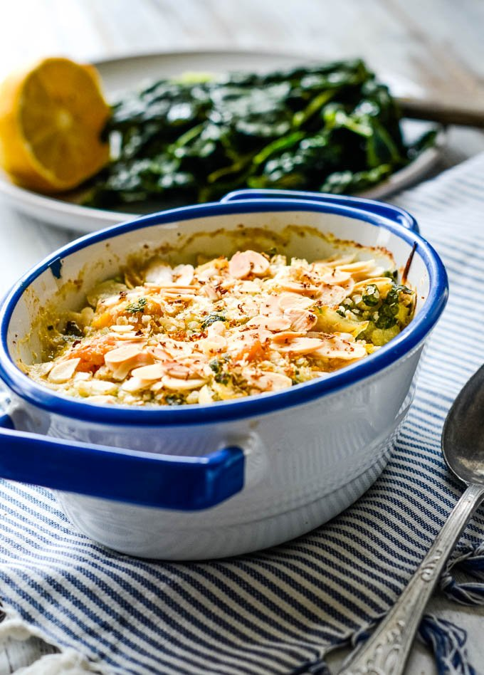 quick and easy low carb healthy fish pie by larderlove