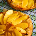 Auld alliance apple tarts with whisky glaze
