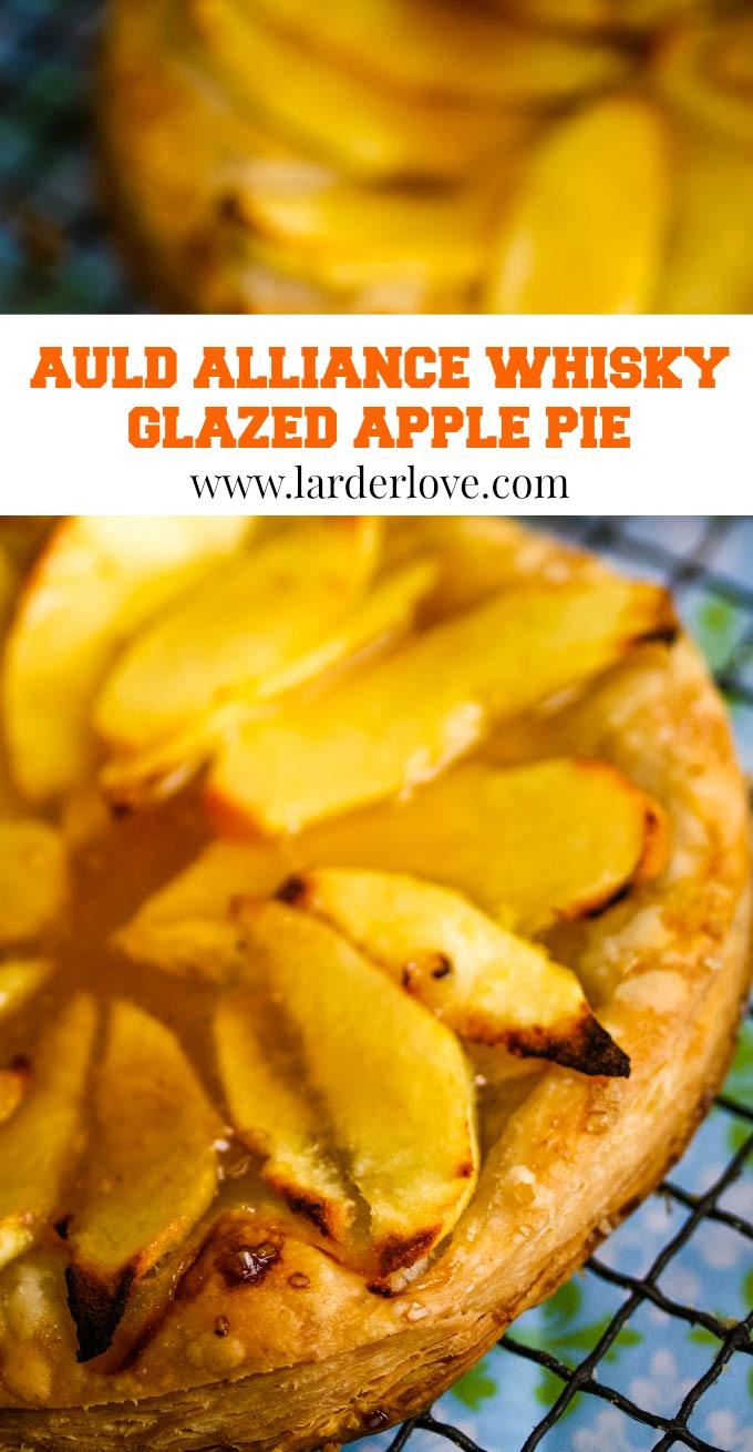 auld alliance apple tarts pin image