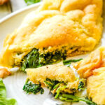 souffle omelette pin image